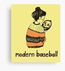 Modern Baseball  Canvas Print