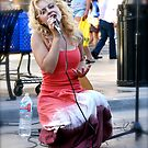 Street Singer by Richard Stephan Bergquist