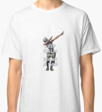 Fortnite Official Calm Keep And Make A Dab Classic T-Shirt
