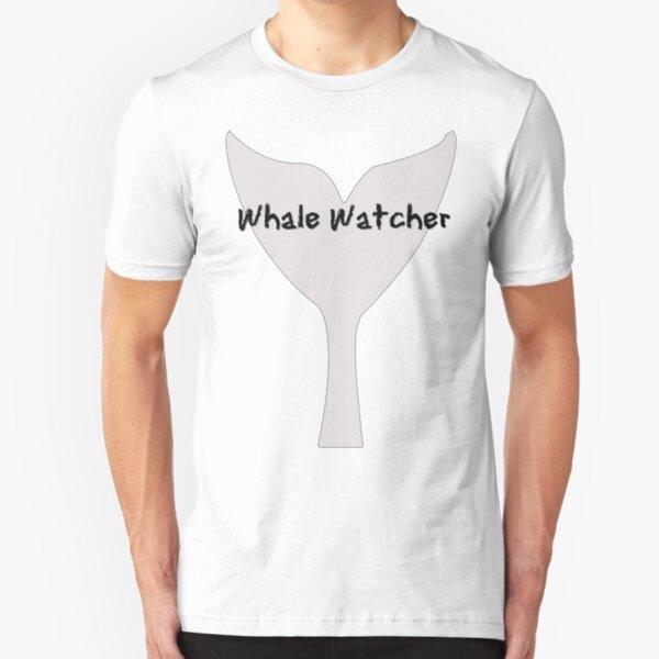Whale Watcher Slim Fit T-Shirt