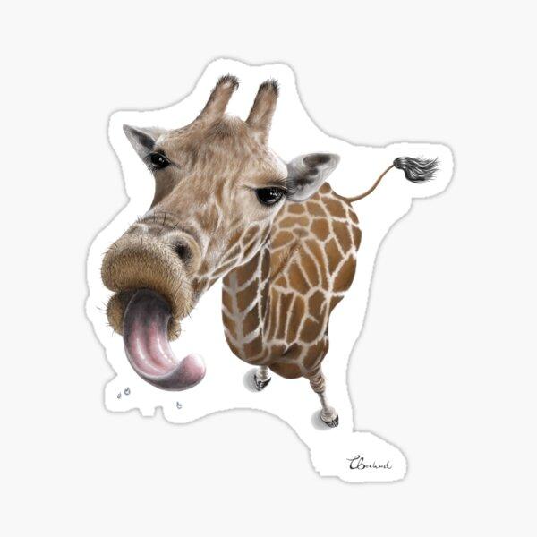 Give me a kiss Sticker
