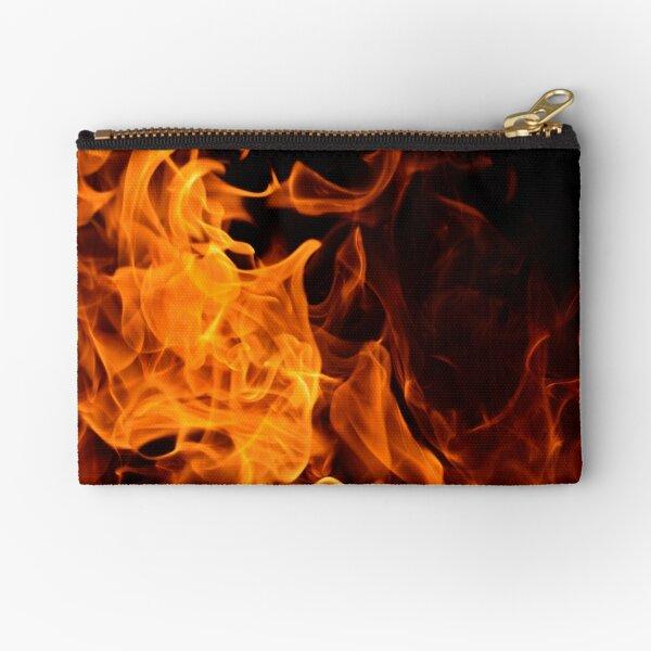 Fire Bonfire Burn Flame Cute Buckle Coin Purses Buckle Buckle Change Purse Wallets