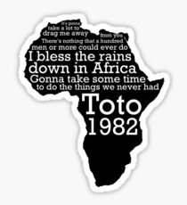 Africa by Toto Sticker