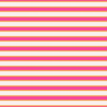 Pink Melon Stripes  by Delight4Delife