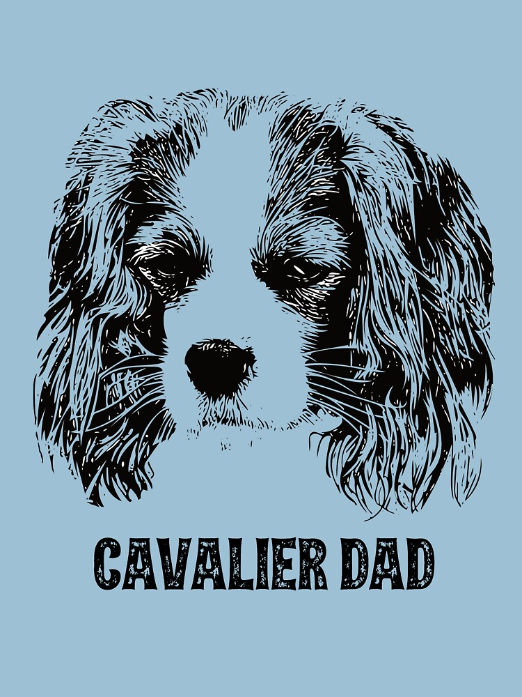 Cavalier Dad King Charles Spaniel by DoggyStyles