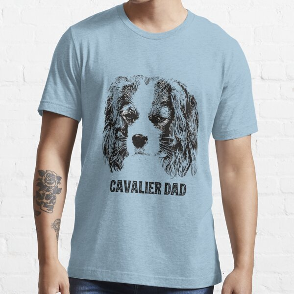 Cavalier Dad King Charles Spaniel Essential T-Shirt