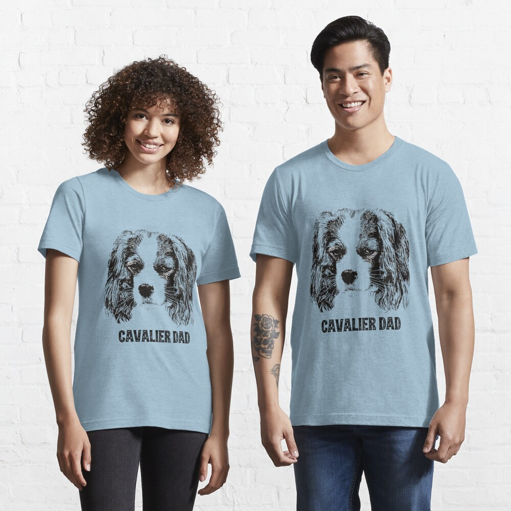Cavalier Dad King Charles Spaniel Essential T-Shirt