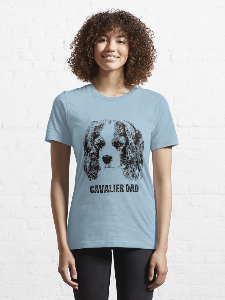 Alternate view of Cavalier Dad King Charles Spaniel Essential T-Shirt