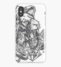 Lion-Sing iPhone Case