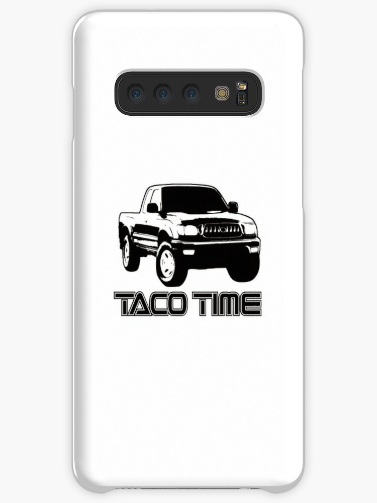 'Taco Time- Toyota Tacoma 1st Gen' Case/Skin for Samsung Galaxy by Janja