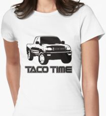 Taco Time- Toyota Tacoma 1st Gen Women's Fitted T-Shirt