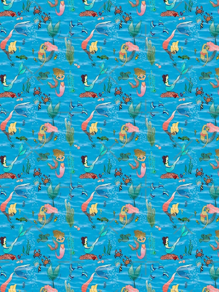 Mermaids and friends by Stasiajahadi