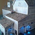 Grain Elevator (A Miniature) by Nadya Johnson