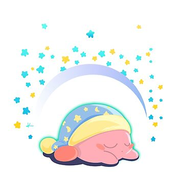 Snooze-Time Kirby! by TurboToaster