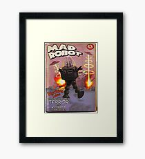 Mad Robot Pulp Cover Framed Print