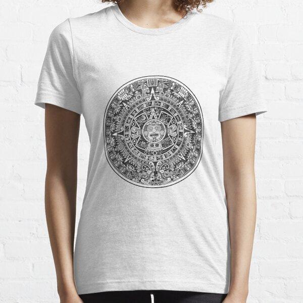 Aztec calendar Essential T-Shirt