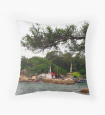 Lamma Island, Hongkong. Throw Pillow