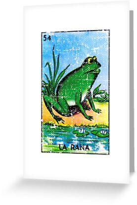 La rana loteria card the frog greeting cards by casadeloteria la rana loteria card the frog by casadeloteria m4hsunfo
