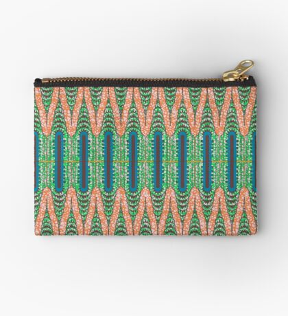 CHRYSLER BUILDING - Orange & Green Studio Pouch