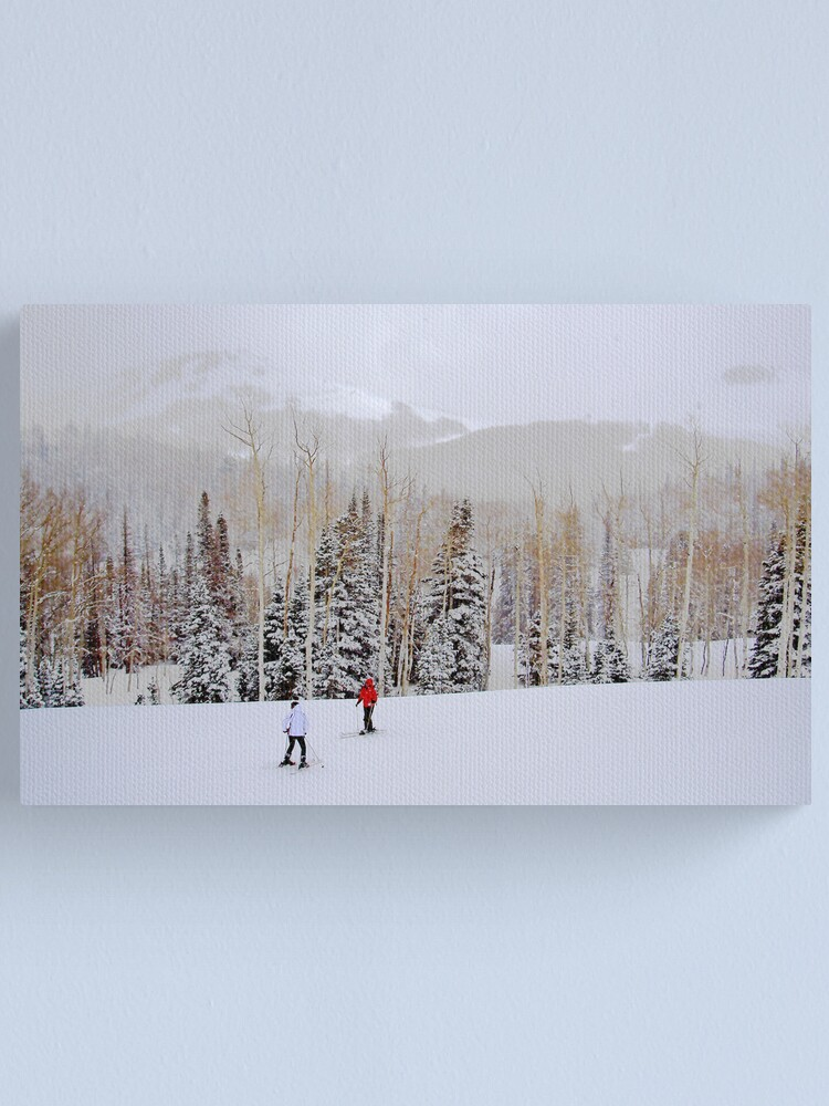 Alternate view of go slow Canvas Print