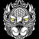 Ornate Pit Bull by GODZILLARGE