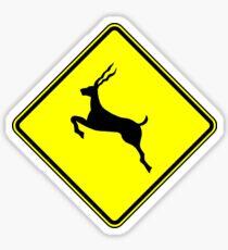 Run Like An Antelope Sticker