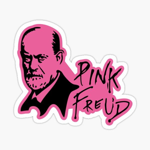 PINK FREUD PSYCHOANALYSIS Sticker