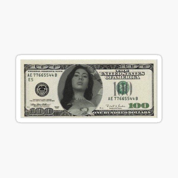 she wants my hundred dollar bills Sticker