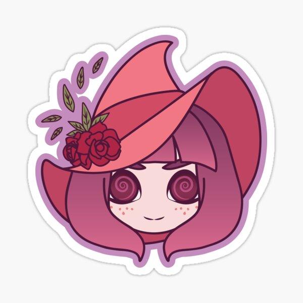 Rosy Witch Sticker