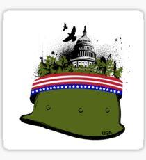 Armeegrün Sticker