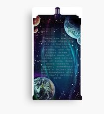 There are worlds out there Canvas Print