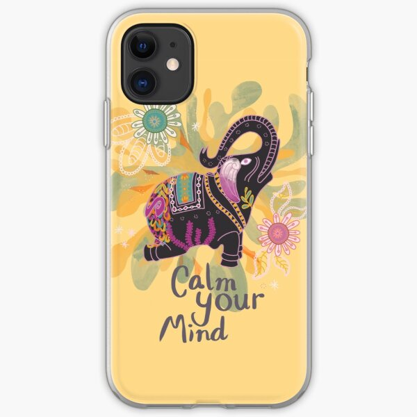 Calm Your Mind #Summer iPhone Soft Case