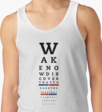 Augendiagramm (der Welt) Tank Top