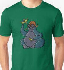 Gorilla dreaming of being a pilot Unisex T-Shirt