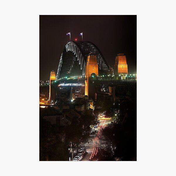 Rockin the Harbour Bridge Photographic Print