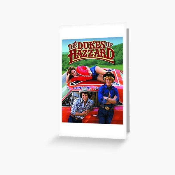 Dukes of Hazzard Greeting Card