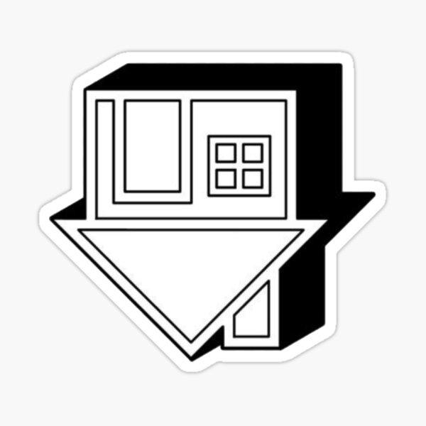 the neighbourhood house logo Sticker
