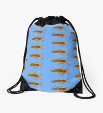 Fish fingers Drawstring Bag