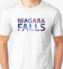Niagara Falls Three Waterfalls Unisex T-Shirt