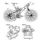 Mountain Bike Patent Inventors Black by Vesaints