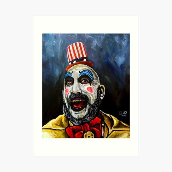Captain Spaulding (House of 1000 corpses) Lámina artística