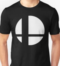 Camiseta ajustada Logotipo de Super Smash Bros