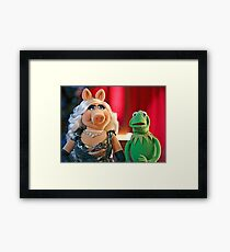 Muppet marriage Framed Print