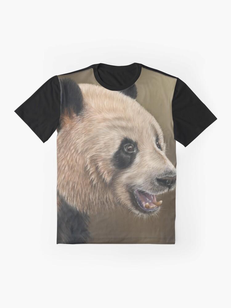 Alternate view of Giant Panda Graphic T-Shirt