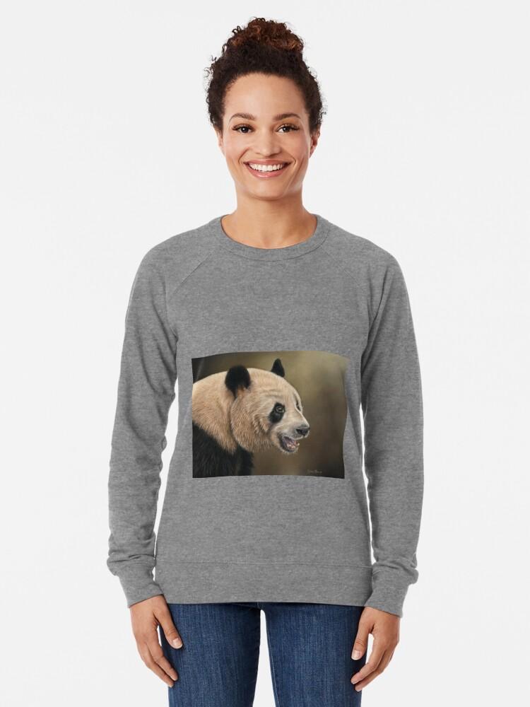 Alternate view of Giant Panda Lightweight Sweatshirt