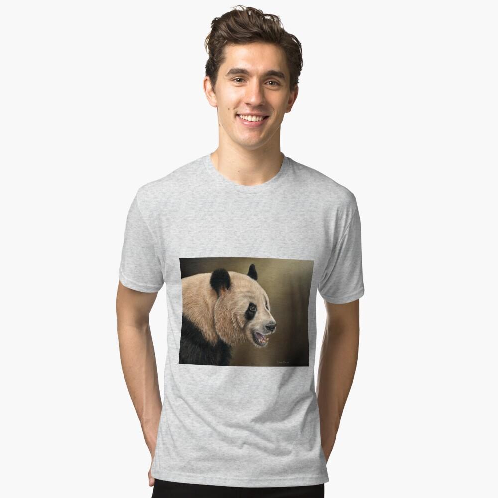 Giant Panda Tri-blend T-Shirt