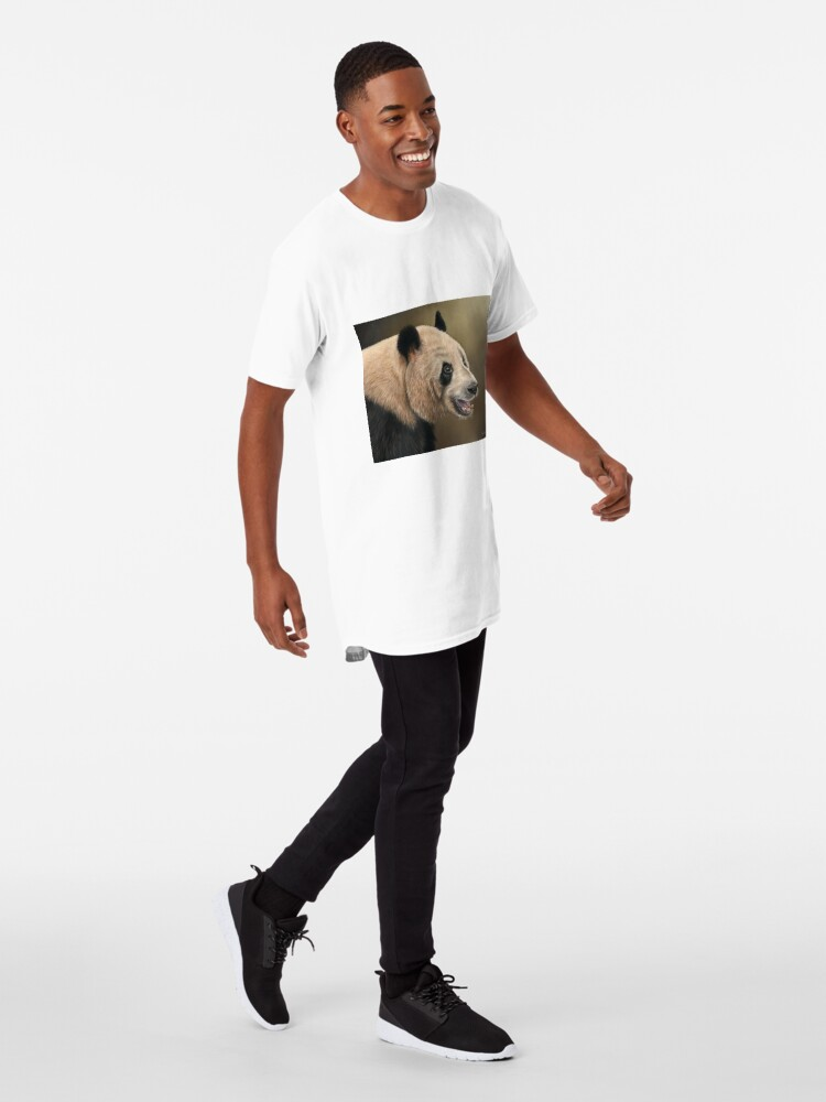 Alternate view of Giant Panda Long T-Shirt