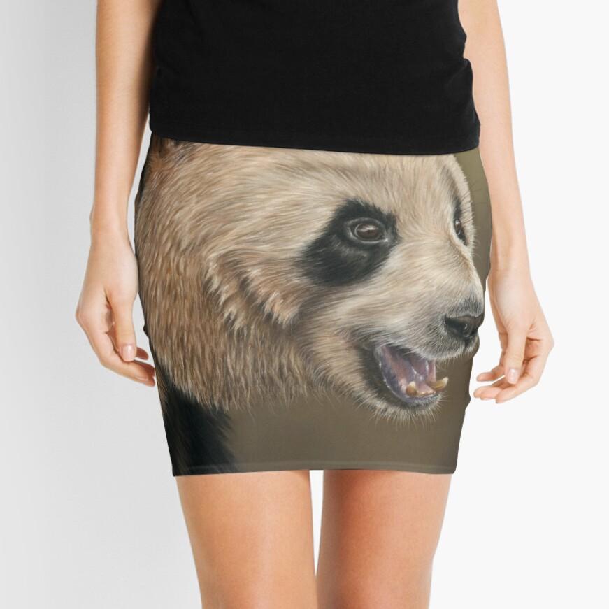 Giant Panda Mini Skirt