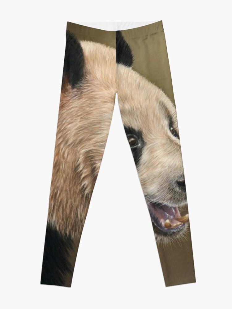Alternate view of Giant Panda Leggings