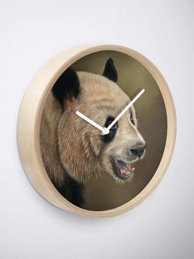 Alternate view of Giant Panda Clock